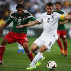 Tommy Smith playing for the All Whites against Mexico in 2014. Photo: Getty Images