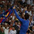 Lionel Messi celebrates his goal against Real Madrid. Photo: Reuters / Stringer Livepic