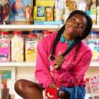 Chewing Gum stars Michaela Coel (also the series' writer) as Tracey Gordon, a 24-year-old shop assistant living with her mother (Shola Adewusi) and sister (Susan Wokoma) on a London housing estate. Photo: Twitter