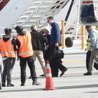 FBI director James Comey has arrived in Queenstown. Photo: Craig Baxter