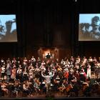 Members of City Choir Dunedin and the Dunedin Symphony Orchestra at a dress rehearsal for The...