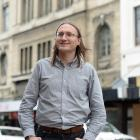 Recently appointed Dunedin City Council heritage policy planner Dan Windwood. Photo by Linda...