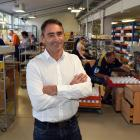 Tuapeka Gold Print general manager Greg Jolly in the company's Fairfield factory. Photo: Gregor...