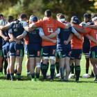 The Highlanders in training at Logan Park earlier this week.PHOTO: GREGOR RICHARDSON