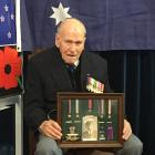 During his wartime service Darcy Hoffman was awarded a number of service medals including the...