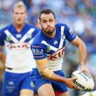 Josh Reynolds in action for the Bulldogs. Photo: Getty Images