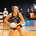 Kelly Jury was key on the defensive end for the Waikato-Bay of Plenty Magic. Photo: Getty Images