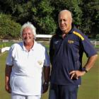 North Otago champion of champions singles winners Kerry Kelly and Sonny Brown.PHOTO: BRIAN PAPPS