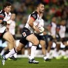 Warriors five-eighth Kieran Foran has reportedly signed with the Bulldogs for next year. Photo:...