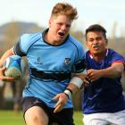Kings left St Kevins behind in the first XV match. Photo: Caswell Images
