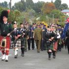 Palmerston Anzac Parade this morning