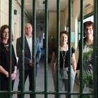 New Dunedin Prison Charitable Trust trustees (from left) Amanda Jane Brosnan, Barry Timmings, ...