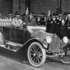 During the Easter holidays, Mr H. J. Ranger in his Chevrolet car put up a new record from Christchurch to Dunedin and back, his actual travelling time being 15 hours, four minutes. One of the conditions was that the top gear only should be used. - Otago W
