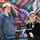 UniQ president Adam Rance (23) and Otago University Students' Association queer support co...