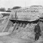 Solid dugouts on the Western Front, showing the immense amount of labour that must have been expended in building them. - Otago Witness, 18.4.1917.