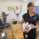 Dunstan Hospital physiotherapist Lisa Carnie has received specialist training for the new pelvic...