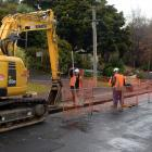Work on water and waste pipes in Alva St means the street has been closed for much of the year. ...
