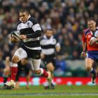 Bryan Habana scored three tries last time the All Blacks played the Barbarians in 2009. Photo:...
