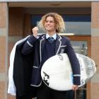 Surfer Elliott Brown (17). Photo: ODT.