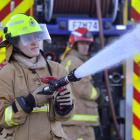 Ravensbourne volunteer recruit firefighter Dayna Gallagher is juggling the pressures of her final...