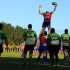 Harbour edged Green Island in their match. Photo: Caswell Images.