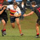 John McGlashan remain unbeaten after their win against Waitaki Boys. Photo: Caswell Images