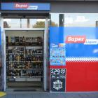 Two teenage girls made off on foot after robbing this store. Photo: NZ Herald