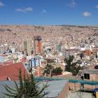 La Paz climbing out of the valley 3,500 metres above sea level. Photos: Tony Nielsen