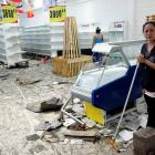 A supermarket was one of many stores looted in San Cristobal, Venezuela. Photo: Reuters