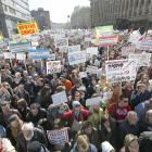 Thousands are protesting a Russian housing resettlement plan to shift millions from their homes....