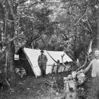 A camp at Cameron's Flat, Makarora.— Otago Witness, 27.6.1917.