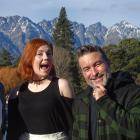 Musicians Finley and Isla Brentwood, originally from Arrowtown, and comedian Dai Henwood (right) will perform during the four-day Queenstown Winter Festival, which will officially open tonight. Photo: Tracey Roxburgh