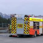 Emergency services at the scene. PHOTO: JONO EDWARDS