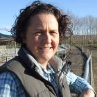 North Otago vet and sharemilker Nicola Neal has a strong interest in rearing young stock. Photo: Sally Rae