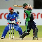 Afghanistan plays Ireland in a one-day match. Photo: Getty Images