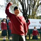 Ahron Tadeo (11), formerly of the Philippines, is one of 35 pupils to enrol at Kaikorai Valley...