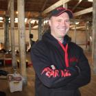 South Canterbury farmer and professional tormenter Rory Foley, inside Oamaru's Loan and Merc...