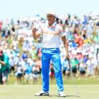 Rickie Fowler during his brilliant first round performance at the US Open. Photo: Getty Images