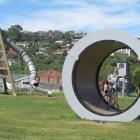 The Friendly Bay playground in Oamaru.