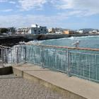 The section of the Esplanade where an access ramp for surfers is expected to be built. PHOTO:...
