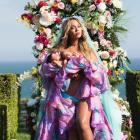 Beyonce's first pictures released of newborn twins on Instagram.