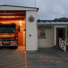 Children pulled the fire alarm at the Cobden firestation. Photo: supplied/Kirk Gillam
