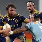 Otago will be without Liam Coltman for its entire 2017 Mitre 10 Cup campaign. Photo: Rob Jefferies