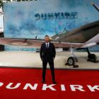 Actor Tom Hardy arrives for the world premiere of Dunkirk in London. Photo: Reuters