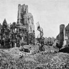 The ruins of the Hotel de Ville in Arras, on the Western Front. - Otago Witness, 4.7.1917.