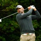 Michael Hendry plays a shot during the first round of the British Open. Photo: Getty Images