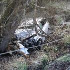 This car  crashed on Sunday morning. Helen Kay said as soon as she was told about the incident...