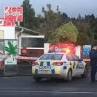 Police have cordoned off the Halfway Bush convenience store following an incident about 8am this...