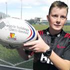 Timaru ball boy Flynn Smith will be running the sidelines at Alpine Energy Stadium this afternoon...