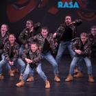 "The Rasa School of Dance ""Diamond Crew"" give it their all during their performance at the recent..."